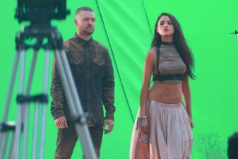 Eiza González es la musa de Justin Timberlake en su nuevo video musical