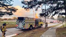 Incendio deja siete empleados de CenterPoints heridos en el área de Klein