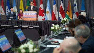 Grupo de Lima se reúne en Canadá para presionar la salida de Nicolás Maduro del poder