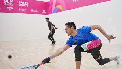Final mexicana en el raquetbol masculino de Lima 2019