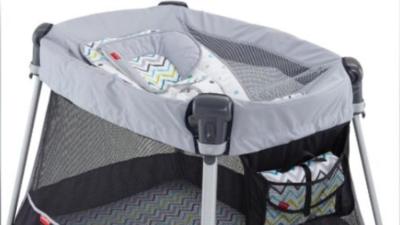 Fisher-Price anuncia que saca del mercado 71 mil 'corralitos' para bebé