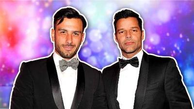Con una tierna foto Ricky Martin anuncia que se convirtió en padre de una niña junto a su esposo Jwan Yosef