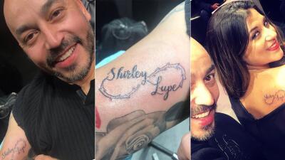 En FOTOS: El tatuaje con el que Lupillo Rivera marca el amor con su novia