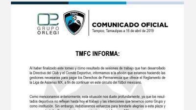 A lo Veracruz: ahora resulta que Tampico Madero también pagará