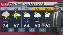 Nubosidad y posibilidad de lluvias para este miércoles en Filadelfia