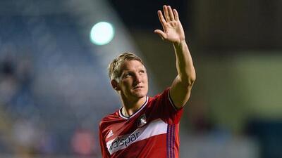 Bastian Schweinsteiger extendió contrato con Chicago Fire y jugará la temporada 2018 en MLS