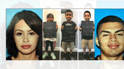 Familia hispana desaparece en California y las autoridades temen que fueron víctimas de secuestro