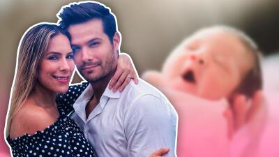 Brandon Peniche y Kristal muestran el rostro de su hija y Sharis Cid publica fotos inéditas de su nieta