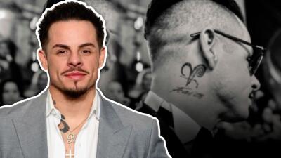 Con este tatuaje Casper Smart revela el tipo de hombre que es