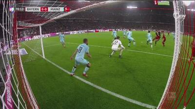 ¡Bayern Munich encendido! Alphonso Davis marca la media docena de goles ante el Mainz