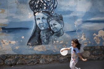 En fotos: La peregrinación de devotos al santuario de la virgen de los migrantes en Ecuador