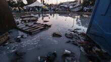 Con la llegada de más migrantes de la caravana, se agrava la crisis humanitaria en la frontera