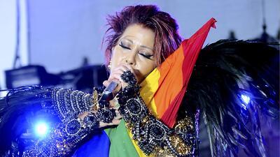 Muchos famosos en México mostraron su apoyo a la comunidad gay