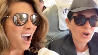 """Montserrat Oliver tiene """"harta"""" a Yolanda Andrade y en este video revelan por qué"""