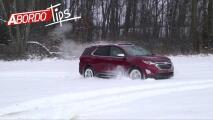 ¿Te pone nervioso manejar sobre nieve o hielo? Aquí algunos consejos