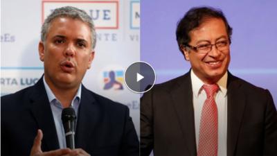 Patricia Janiot entrevista a los candidatos colombianos Iván Duque y Gustavo Petro