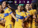 Sufrió pero Tigres logró sacarle el triunfo a Puebla sobre el final en la Liga MX Femenil
