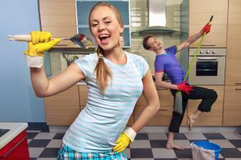 Cómo hacer de la limpieza algo divertido
