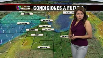 Clima para el martes en el área de Chicago