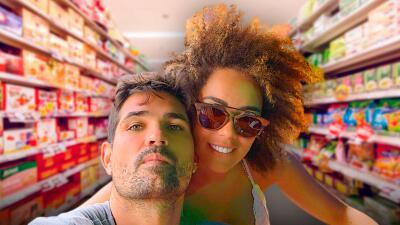 Ferdinando Valencia y Brenda Kellerman presumen su nueva forma (autorizada) para ir de compras
