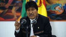 El presidente boliviano Evo Morales insiste en que ganó las elecciones mientras la OEA pide se realice balotaje