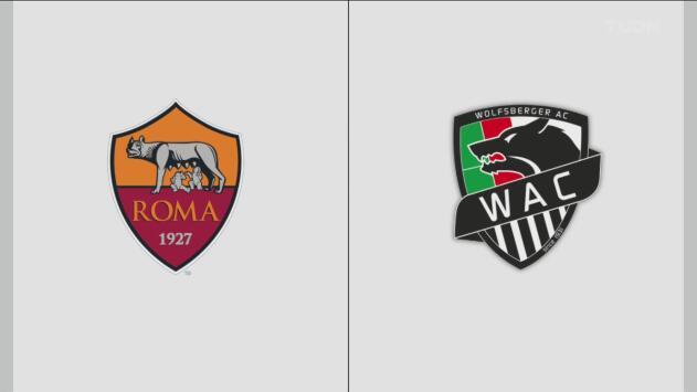 Roma 2-2 Wolfsberg – Goles y Resumen x – Grupo J – Europa League