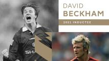 ¡Leyenda! Beckham es investido al Hall of Fame de la Premier