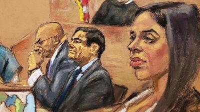 Testigo revela detalles sobre la esposa de 'El Chapo', que podrían implicarla en el juicio de Guzmán