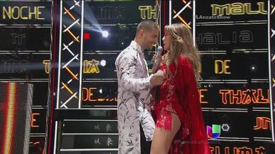 Thalía y Maluma cautivaron Premio Lo Nuestro
