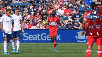 Chicago Fire 4-0 FC Dallas - Resumen y Goles – Semana 28 MLS