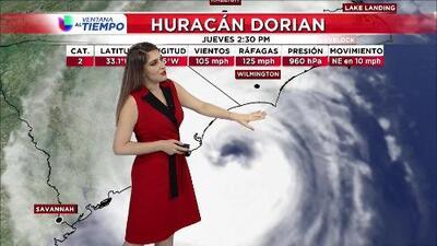Huracán Dorian pega con fuerza en Carolina del Norte