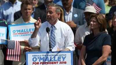 Martin O'Malley anuncia su candidatura para las primarias demócratas a la Casa Blanca
