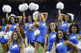 El colorido del Bears contra Lions en el Día de Acción de Gracias en la NFL