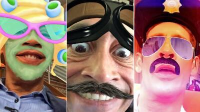 Johnny Lozada se divierte como peque usando Snapchat