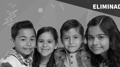 Los Pequeños Guerreros: Yumalay Díaz, Valeria Rodríguez, Diego Rodríguez y Luisangeli Espinosa