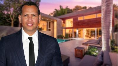 A-Rod vende la casa de soltero que tenía en Hollywood por más de 4 millones de dólares