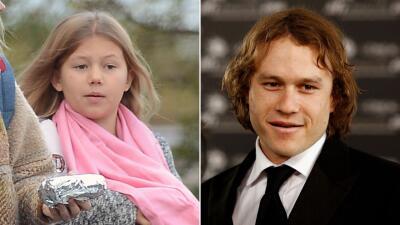 Mira cómo ha crecido la hija de Heath Ledger