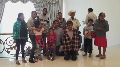 Esta es la familia de la foto en Los Pinos que se volvió viral