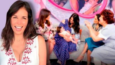 En fotos: la nieta de Giselle Blondet alborotó a todos en su primera visita a Despierta América