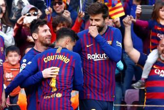 En fotos: Lionel Messi sí brilla con Barcelona con doblete en el triunfo contra Espanyol