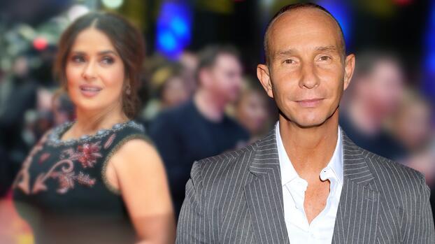 Erik Rubín reveló que tuvo un romance de una sola noche con Salma Hayek
