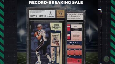 La descomunal cifra que se pagó por una tarjeta de Tom Brady