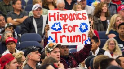"""""""Si, yo estoy con Trump"""": los republicanos intentan reafirmar la unidad del partido para seducir el voto hispano"""