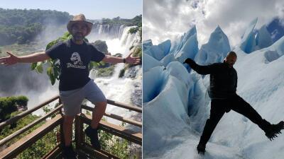 FOTOS: Las vacaciones de Raul 'El Pelón' en Argentina 🇦🇷