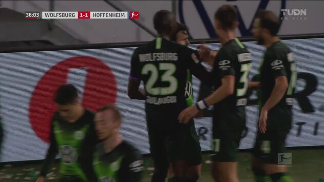 ¡Bombazo y golazo! Mehmedi firma el empate ante Hoffenheim