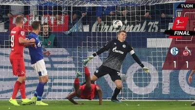Colonia impide líder en solitario en la Bundesliga