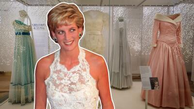 Icónico vestido de la princesa Diana de Gales fue encontrado en una tienda de segunda mano