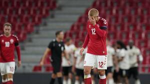 Dolberg sufrió doble robo mientras disputaba la Nations League con Dinamarca