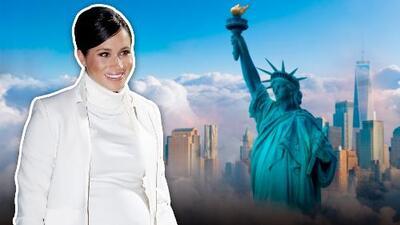 Meghan Markle viajó en secreto a Nueva York para celebrar su primer 'baby shower'