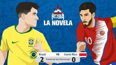 La Novela: Sobre el final, Coutinho y Neymar le dan un sufrido triunfo a la 'Canarinha'